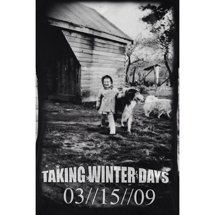 Taking Winter Days Tour Dates