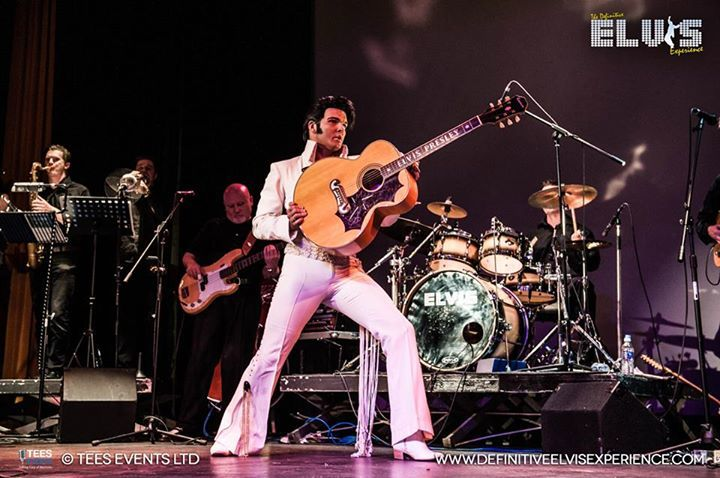 Ben Thompson  Elvis Tribute Artist @ alexander theatre - Bognor Regis, United Kingdom