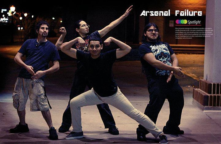 Arsenal Failure Tour Dates