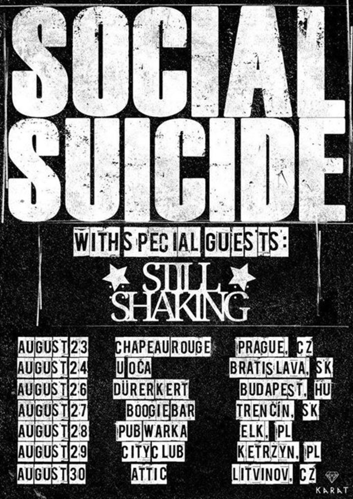 SOCIAL SUICIDE Tour Dates