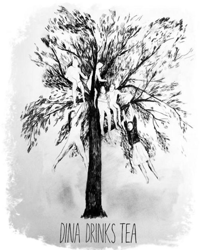 Dina Drinks Tea Tour Dates