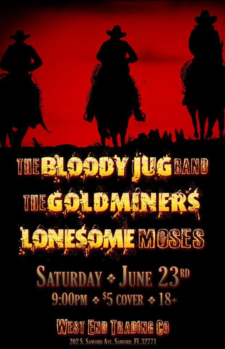Lonesome Moses Tour Dates