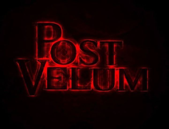 Post Velum Tour Dates