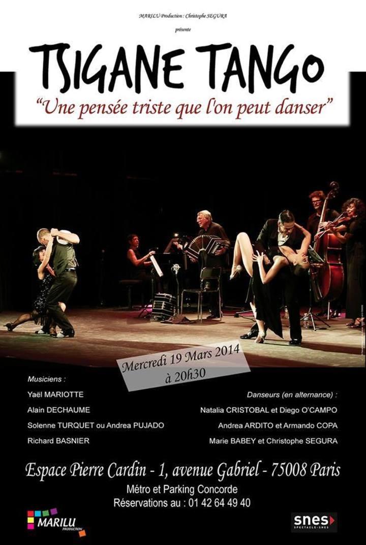 Tsigane-Tango Tour Dates