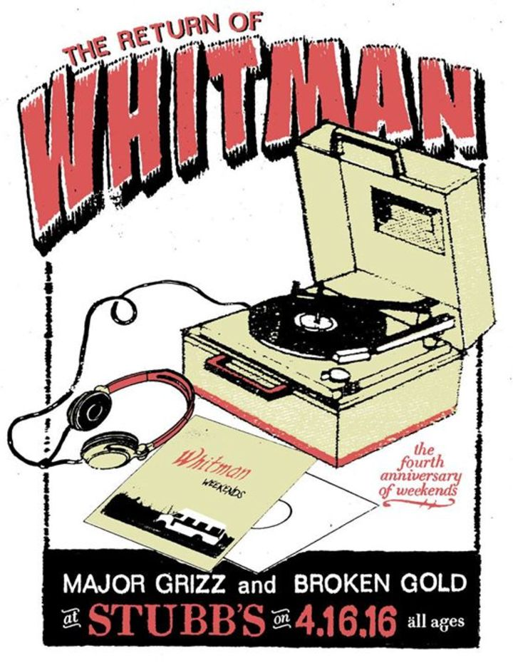Whitman Tour Dates