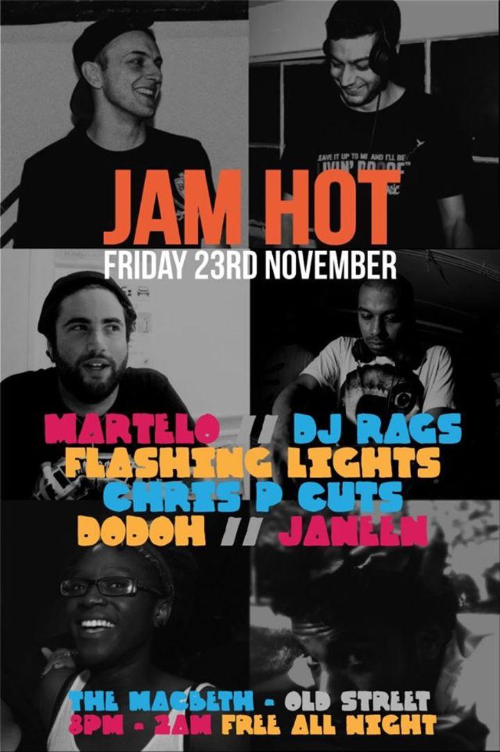 Jam Hot Tour Dates
