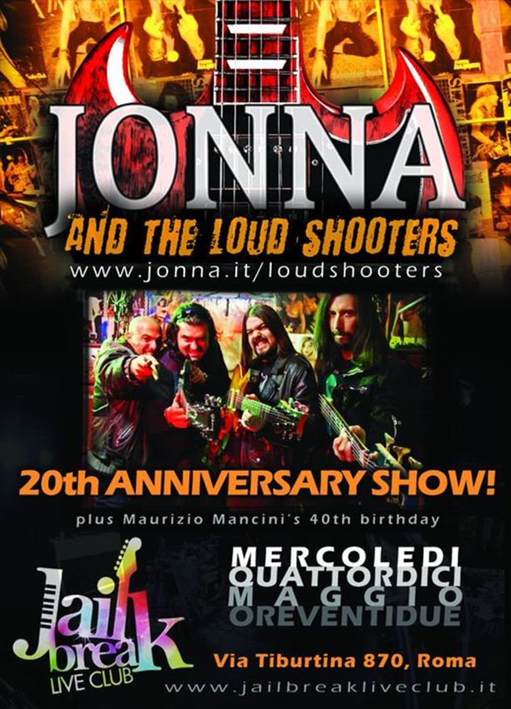 Jonna & The Loud Shooters Tour Dates