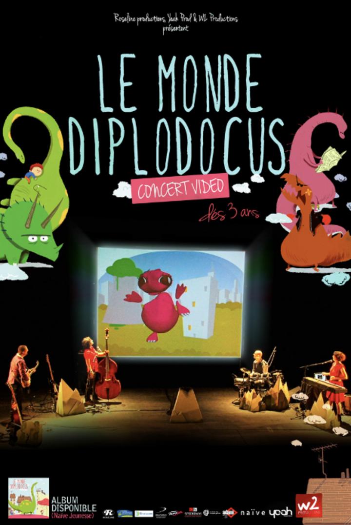 LE MONDE DIPLODOCUS Tour Dates