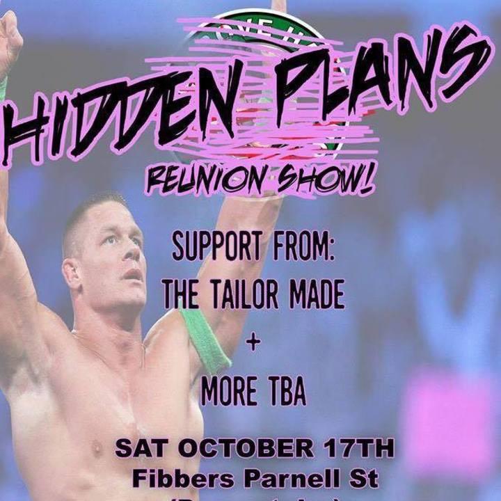 Hidden Plans Tour Dates
