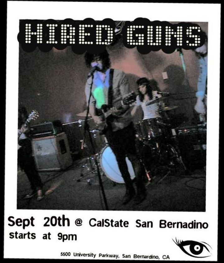 Hired Guns Tour Dates