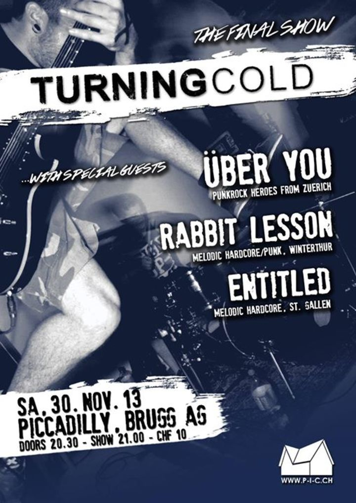 Turning Cold Tour Dates