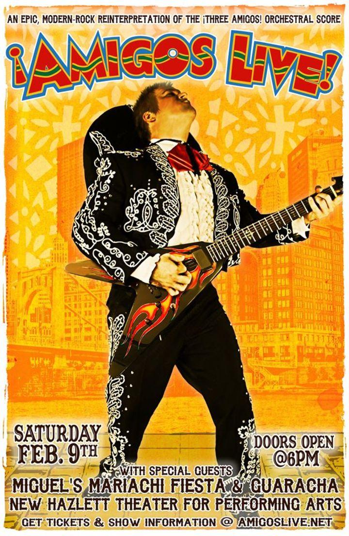 Amigos Live Tour Dates