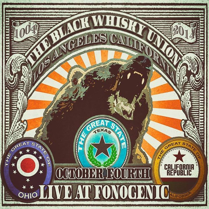 The Black Whisky Union Tour Dates