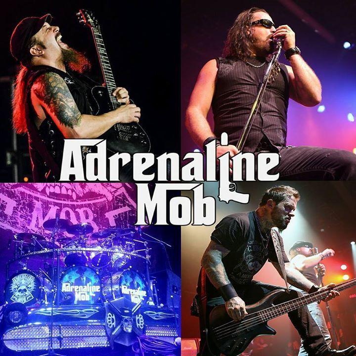 Adrenaline Mob Tour Dates