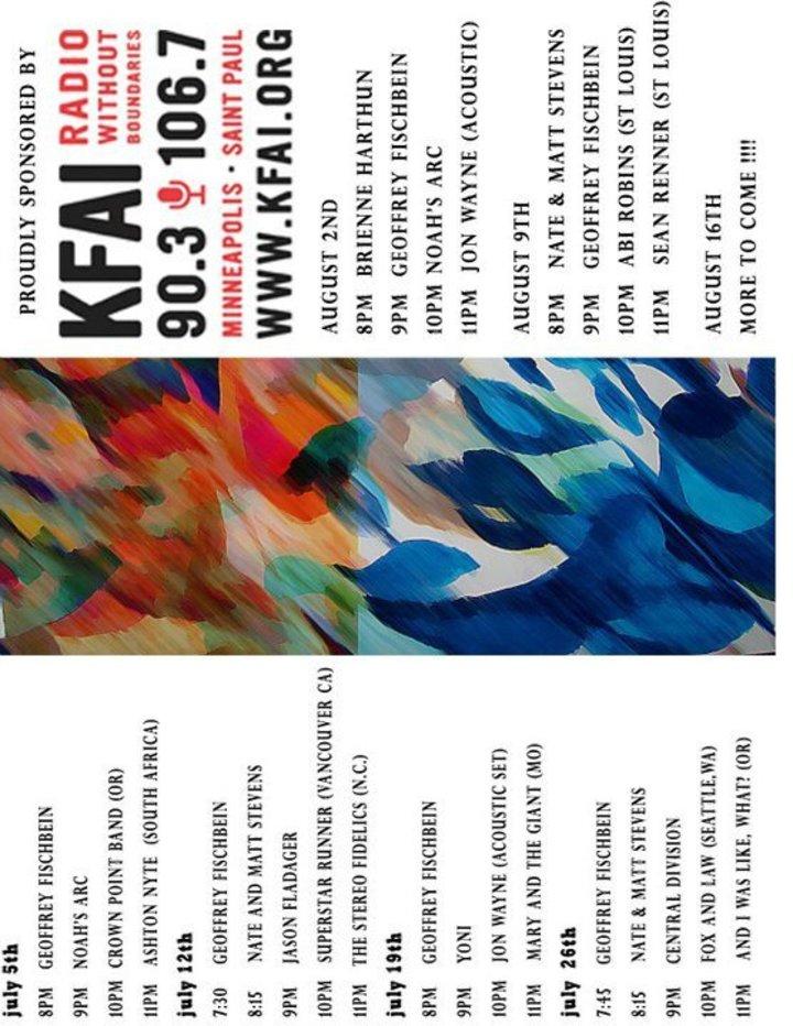 Geoffrey Fischbein Tour Dates