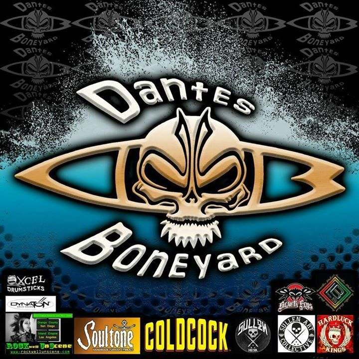 Dantes Boneyard Tour Dates