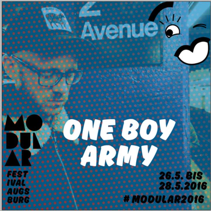 One Boy Army Tour Dates