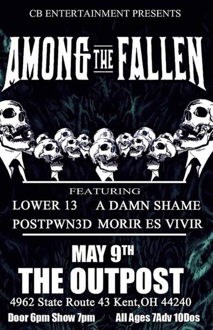 Among The Fallen Tour Dates