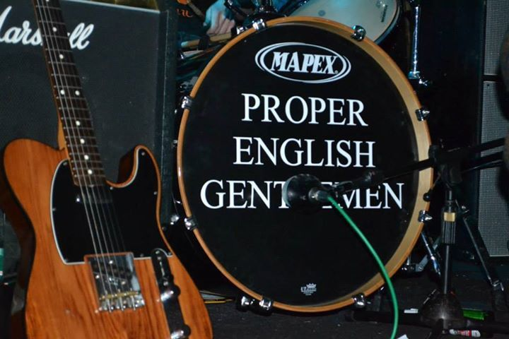 Proper English Gentlemen Tour Dates