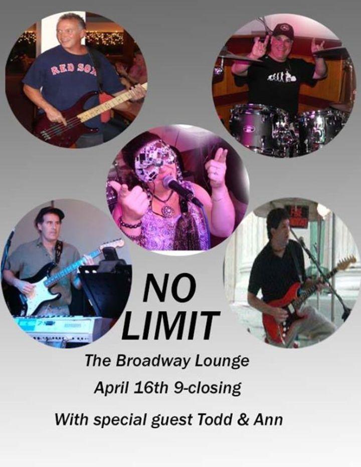 no limit Tour Dates