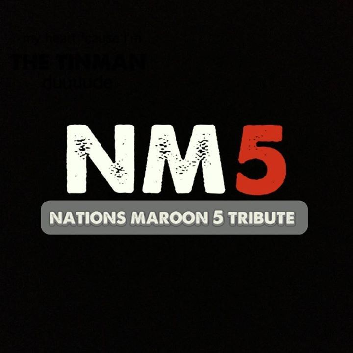 Nations Maroon 5 Tribute Band Tour Dates