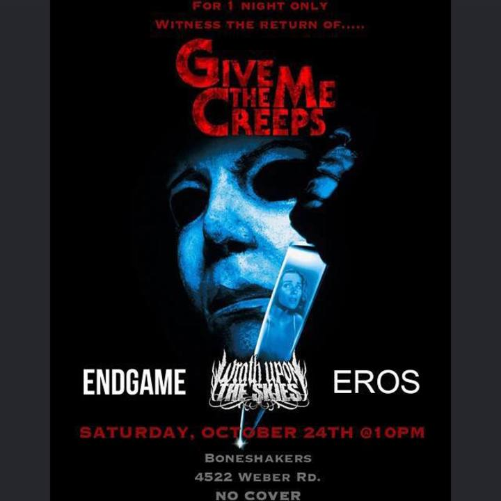 Give Me The Creeps Tour Dates