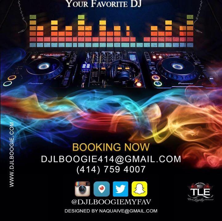 DJ L BOOGIE YOUR FAVORITE DJ Tour Dates