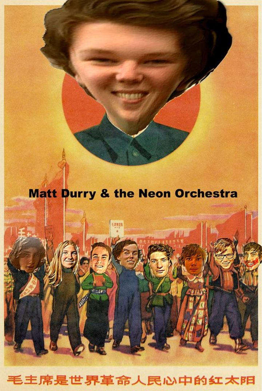 Matt Druery and his Neon Orchestra Tour Dates