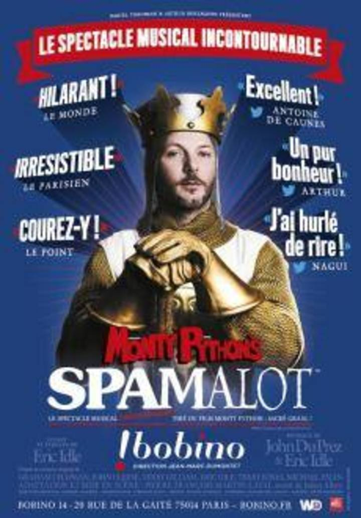 Spamalot-PEF Tour Dates