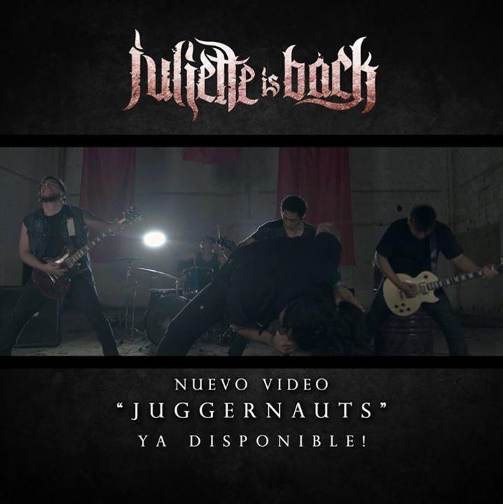 Juliette Is Back Tour Dates