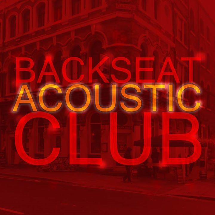 Backseat Acoustic Club Tour Dates