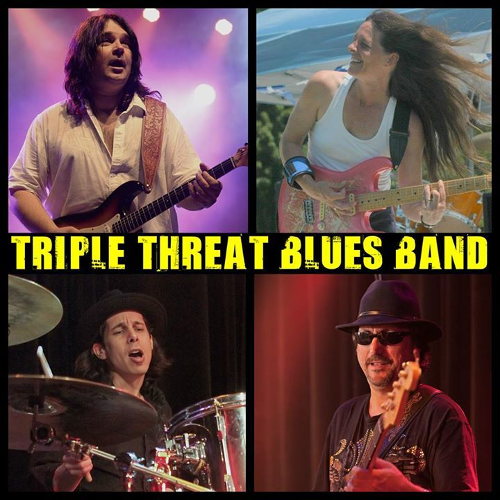 Triple Threat Blues Band Tour Dates