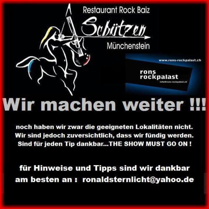 Rest. Schützen Tour Dates