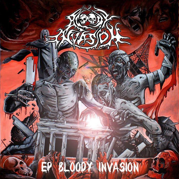 Bloody Invasion Tour Dates
