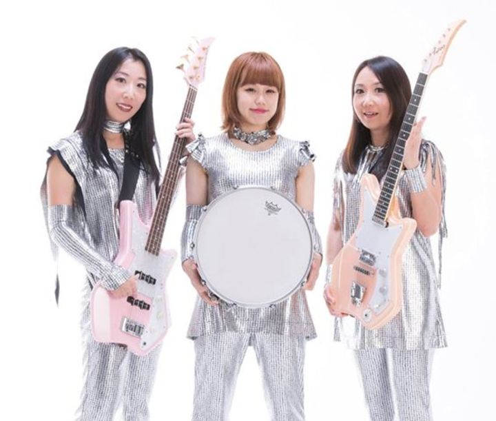 Shonen Knife @ the VFW - Galveston, TX