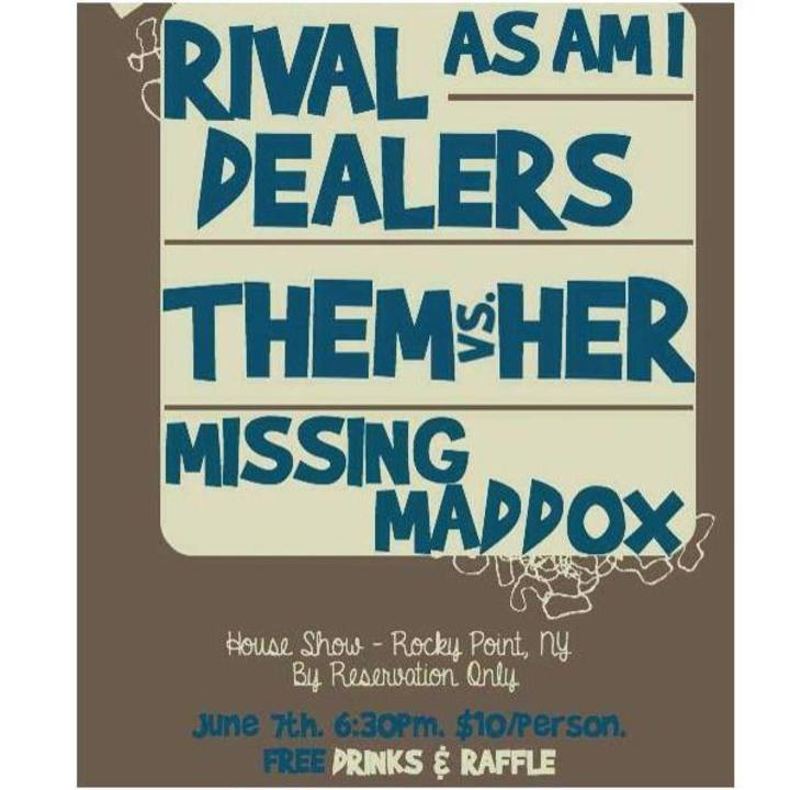 Rival Dealers Tour Dates