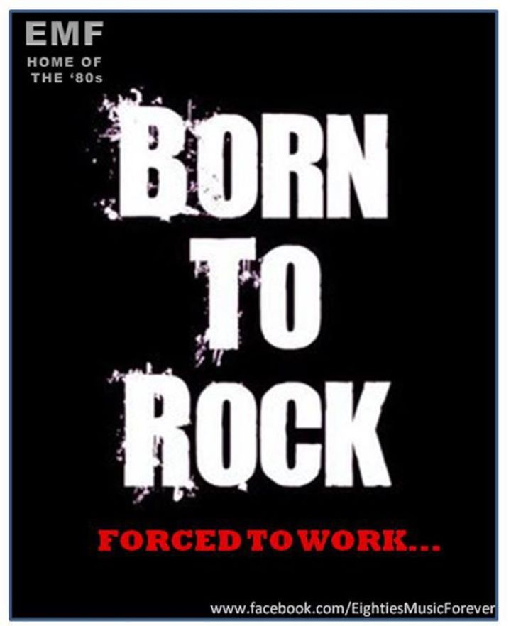 BORN TO ROCK Tour Dates