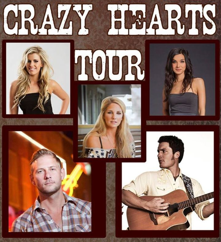 Crazy Hearts Tour Tour Dates