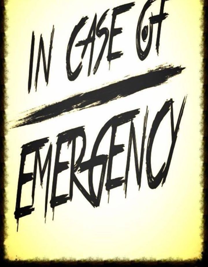 In Case of Emergency Tour Dates