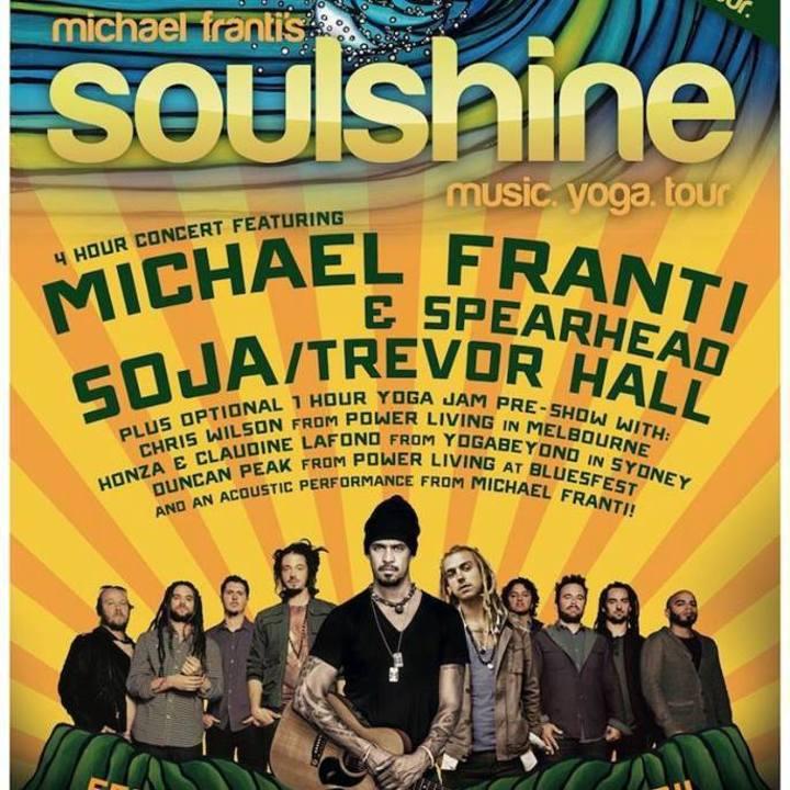 Soulshine Tour Tour Dates