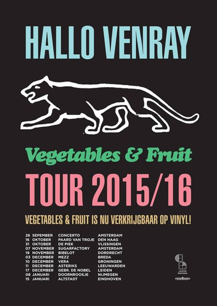 Hallo Venray Tour Dates