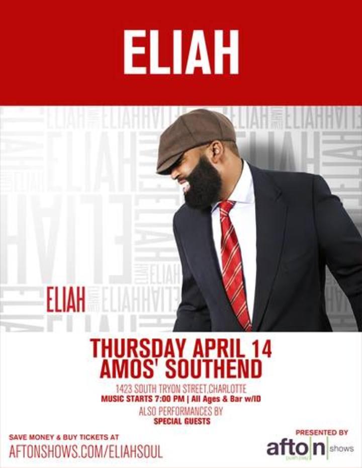 Eliah Tour Dates