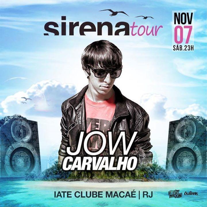 DJ Jow Carvalho Tour Dates
