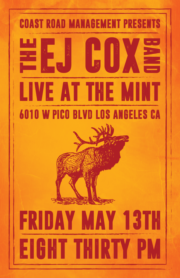 EJ Cox @ The Mint