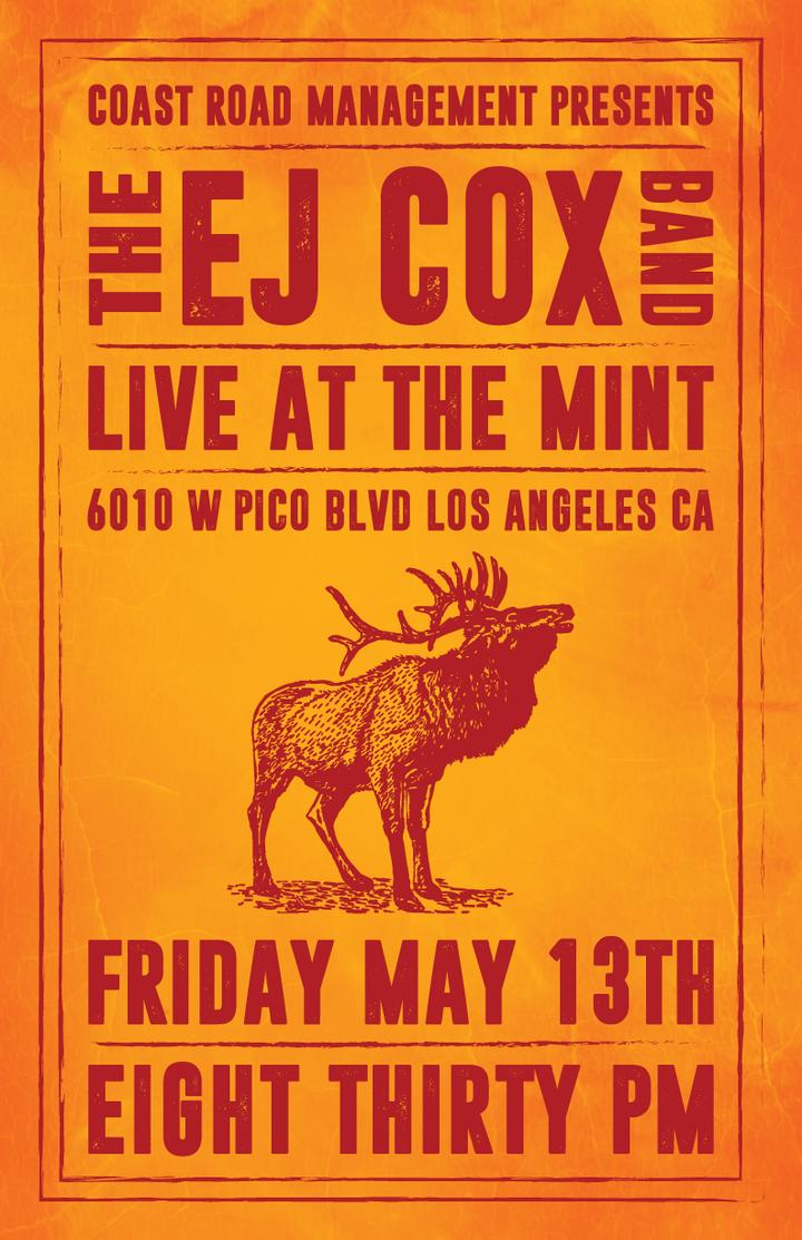 EJ Cox @ The Mint