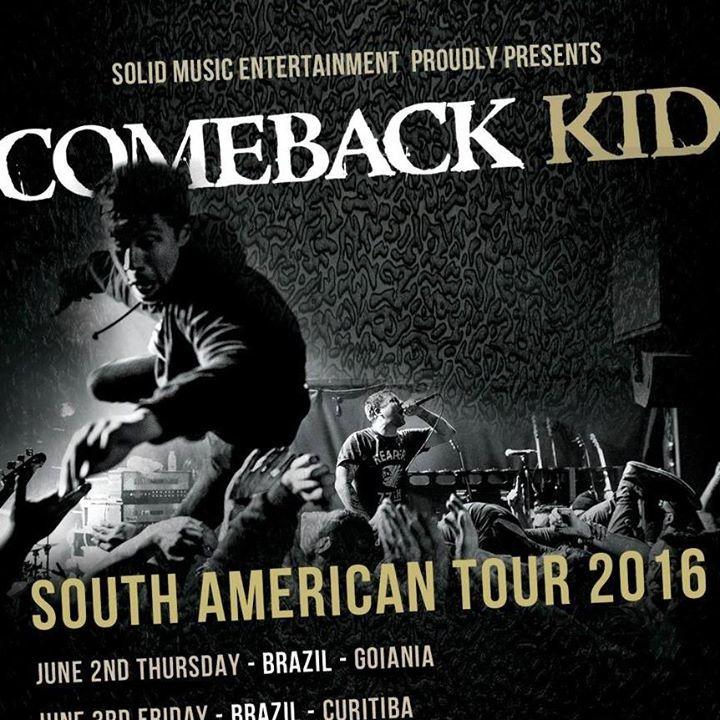 Comeback Kid @ Le Klube - Jonquiere, Canada