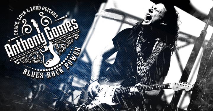 Anthony Gomes @ Redstone Room (w/ Winter Blues Allstars) - Davenport, IA
