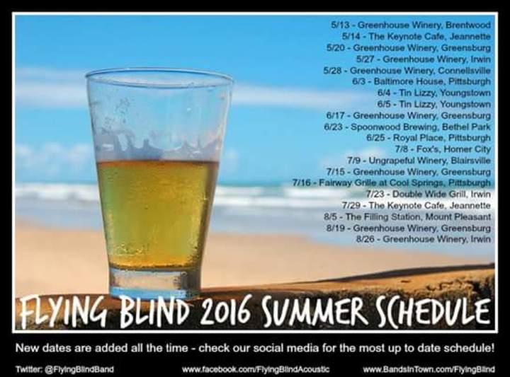 Flying Blind Tour Dates