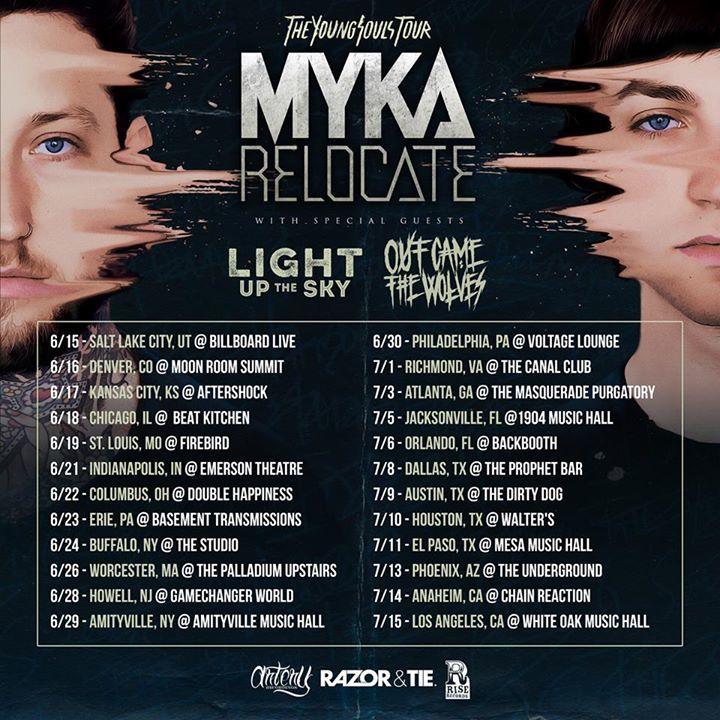 Myka,Relocate @ Vaudville Mews - Des Moines, IA