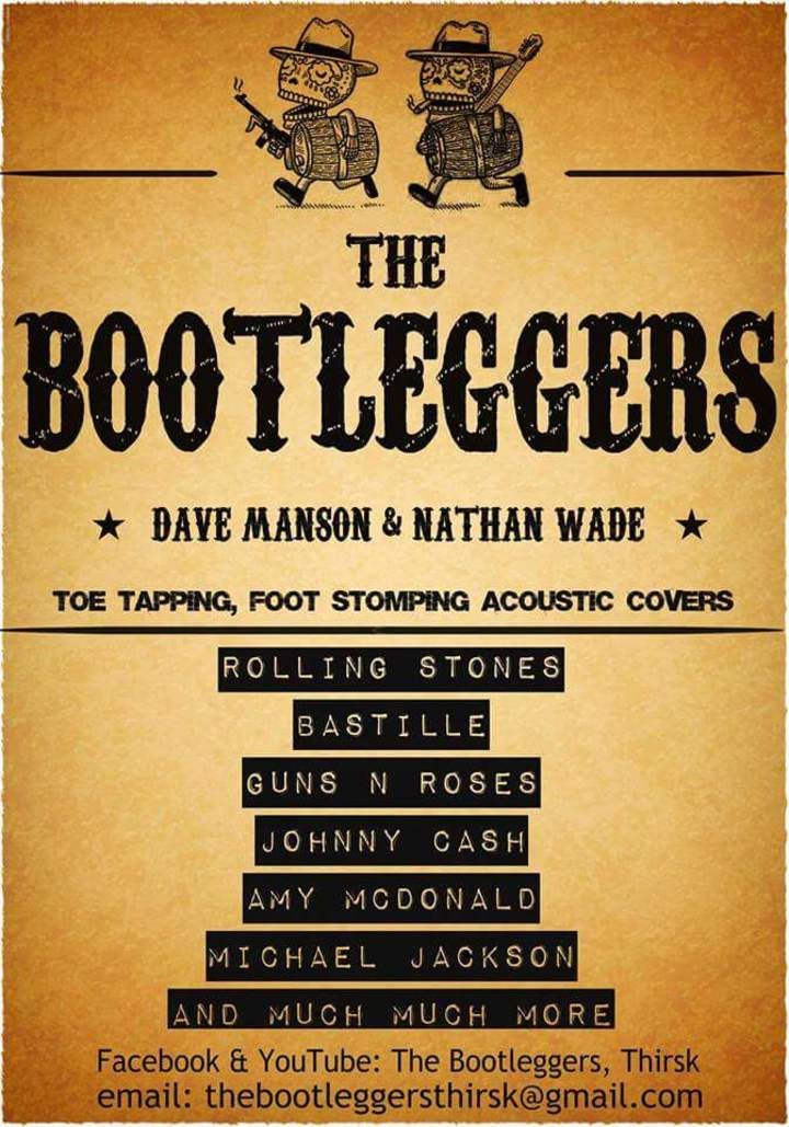 The Bootleggers, Thirsk Tour Dates
